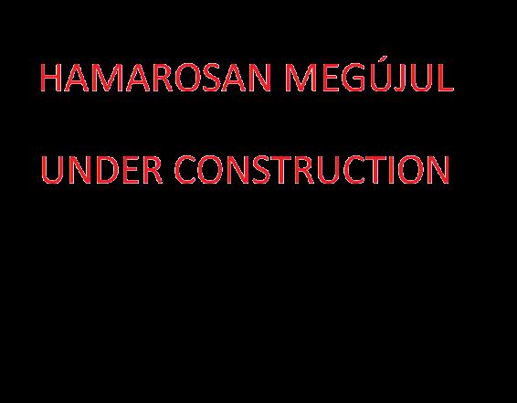Pinter Pigeon oldal hamarosan megújul Under Construction